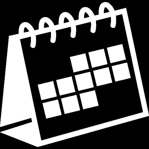 calendar white